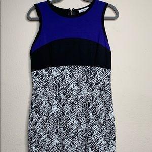 Calvin Klein Sleeveless Dress Size Large